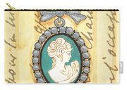 French Cameo 1 Carry-all Pouch by Debbie DeWitt