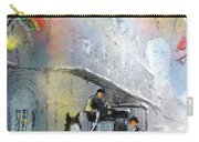 French Quarter In New Orleans Bis Carry-all Pouch