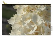 French Vanilla Hydrangea Carry-all Pouch