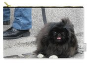 Frenchman And His Dog Carry-all Pouch