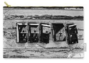 Freret Street Mailboxes - Black And White -nola Carry-all Pouch