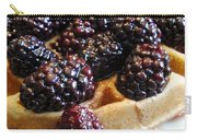 Fresh Blackberry Waffles Carry-all Pouch