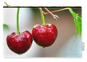 Fresh Wet Cherries Carry-all Pouch