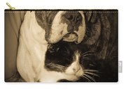 Friendship Is The Greatest Gift Of All Greeting Carry-all Pouch