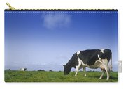 Friesian Cow Grazing In A Field Carry-all Pouch