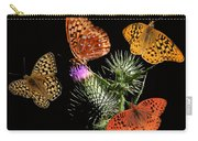 Four Fritillaries Carry-all Pouch