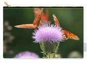 Fritillary Wings And Thistles Carry-all Pouch