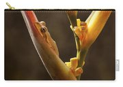 Frog And Heliconia Carry-all Pouch