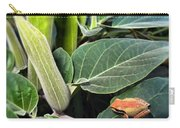 Frog And Moonflower Carry-all Pouch