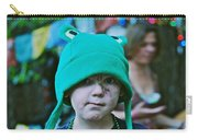 Frog Hat Carry-all Pouch