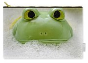 Frog In The Bath  Carry-all Pouch