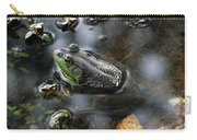 Frog In The Millpond Carry-all Pouch