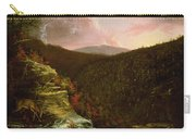 From The Top Of Kaaterskill Falls Carry-all Pouch by Thomas Cole