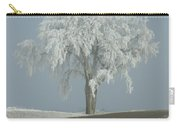 Frost On The Big Tree  Carry-all Pouch