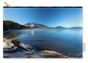 Frost On The Shore Carry-all Pouch