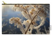 Frosty Dry Wood Aster Carry-all Pouch