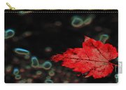 Frozen Red Leaf Carry-all Pouch
