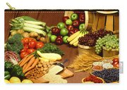 Fruit And Grain Food Group Carry-all Pouch