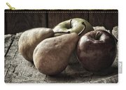 Fruit On A Wooden Stool Carry-all Pouch