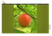 Fruit Plums Red Carry-all Pouch