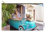 Fruit Stand In Collioure France Carry-all Pouch