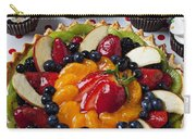 Fruit Tart Pie And Cupcakes  Carry-all Pouch by Garry Gay