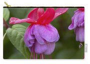 Fuchsia Fuchsia Sp Red And Blue Variety Carry-all Pouch