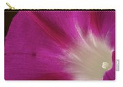 Fuchsia Morning Glory Carry-all Pouch