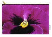 Fuchsia Pansy Carry-all Pouch
