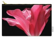 Full Bloom Pink Tulip Flower Carry-all Pouch
