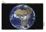 Full Earth Showing Africa And Europe Carry-all Pouch