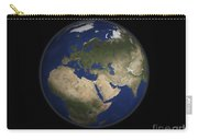 Full Earth View Showing Africa, Europe Carry-all Pouch