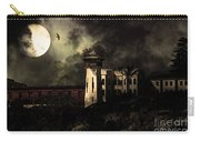 Full Moon Over Hard Time - San Quentin California State Prison - 7d18546 - Partial Sepia Carry-all Pouch