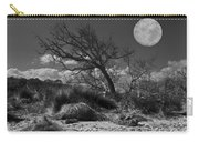 Full Moon Over Jekyll Carry-all Pouch by Debra and Dave Vanderlaan