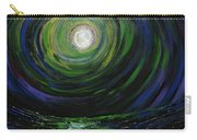 Full Moon Over The Sea Carry-all Pouch