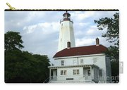 Full View Of Sandy Hook Lighthouse Carry-all Pouch