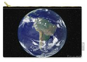 Fully Lit Earth Centered On South Carry-all Pouch by Stocktrek Images