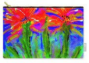 Funky Flower Towers Carry-all Pouch