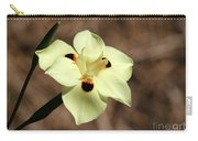 Funny Face Flower Carry-all Pouch