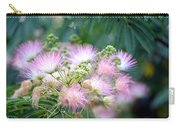 Furry Pink Bouquet Carry-all Pouch