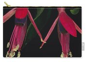 Fuschia Flowers Atlantic Forest Carry-all Pouch