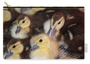 Fuzzy Ducklings Carry-all Pouch