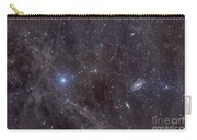 Galaxies M81 And M82 As Seen Carry-all Pouch by John Davis