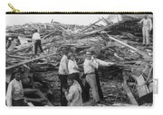 Galveston Disaster - C 1900 Carry-all Pouch