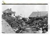 Galveston Flood Debris - September - 1900 Carry-all Pouch by International  Images