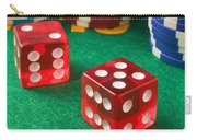 Gambling Dice Carry-all Pouch