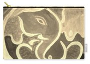 Ganesha In Sepia Hues Carry-all Pouch