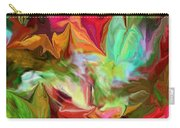Garden Abstract 072312 Carry-all Pouch