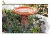 Garden Birdbath Carry-all Pouch