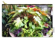 Garden Bowl Of Foliage Carry-all Pouch